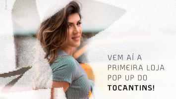 O PALMAS SHOPPING INAUGURA A 1ª POP-UP DO TOCANTINS