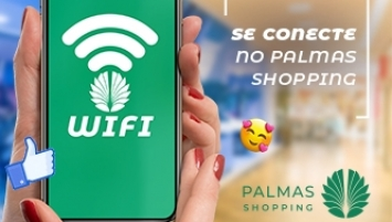 Conecte-se no Palmas Shopping!